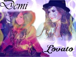 Demi Lovato background by Rosshi