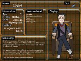 Digimon 2012 : Chief by Filecreation