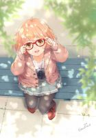 [Fanart] 'Mirai' from 'Beyond The Boundary' by Snonfield