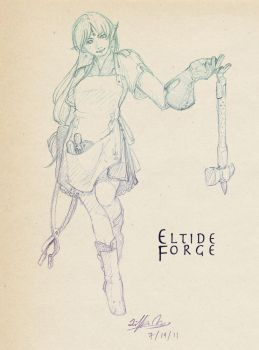 Eltide Forge: Artificer by Feylore