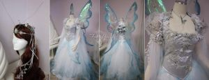 Butterfly Wedding Dress by Lillyxandra