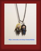 Fili x Kili Necklace by Sugar-Bolt