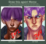 draw this again Future Trunks by Pulse-of-Gravity
