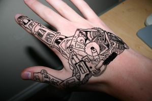 Mechanical Hand by crazy0000