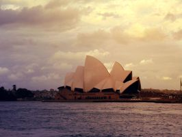 Sydney Opera House Evening by W00den-Sp00n