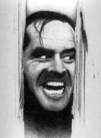 Jack Nicholson The Shining by Dr-Horrible