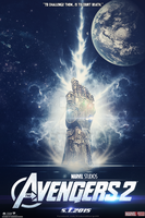 The Avengers 2 (FANMADE) Teaser Poster v2 by DiamondDesignHD