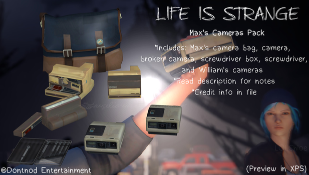 LiS - Max's Camera Pack by angelic-noir