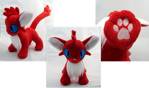 Red Kitty by PlanetPlush