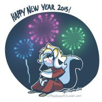 Happy Near Year 2015 by SupaCrikeyDave