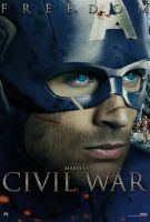 Marvel's Civil War Captain America Freedom Poster by Enoch16