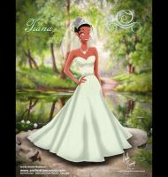 Tiana in Alfred Angelo Dress by AN-ChristianComics
