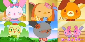 HELP SANRIO CHARACTERS NAMES by misstechnobeat