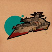 Surveillance Patrol Ship by SeanLenahanSD