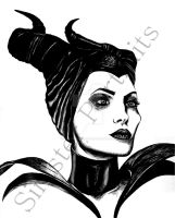 Maleficent by sinisterportraits