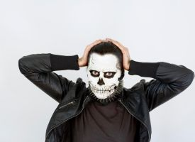 Skull Face by nexttodeath