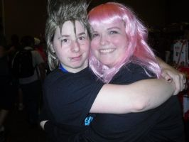 Demyx, Marluxia at ColossalCon by monster-assassin
