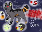 :Halloween OC: Joyride 2014 Official Ref. by AgentAnarchy