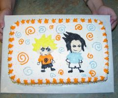Naruto Birthday Cake by LOTUS-ink