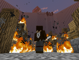 Attack on Ender Minecraft Build WIP by Matau228