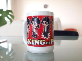 The King of POP Mug 1 by mosquitoworks
