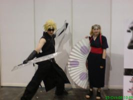 Expo 2008 - Cloud and Temari by sassie-kay