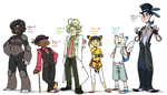 SoulSilver Team 2 by BechnoKid