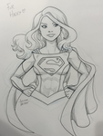Supergirl NYCC Commission by LucianoVecchio