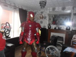 my complete iron man suit by firebapx