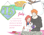Ichihime Moments Calendar: July 2013 by RomaniaBlack