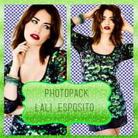 Photopack Lali Esposito by iSkiesColors
