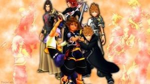 KH boys by TashitaDissidia
