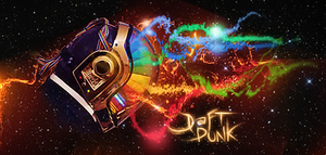 Daft Punk abstract by tkim2008