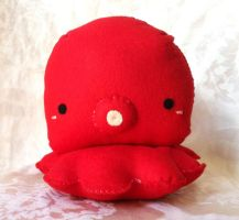 Big Red Octopus by PinkChocolate14