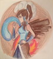 Korra by PigletPrincess