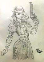 Steampunk Beck Miller from Hannibal by Dogsupreme