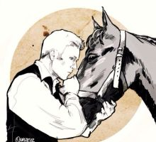 Steve Rogers the Stable Boy by superfizz