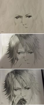 Ruki at the beginning by Mika-loves-Kai