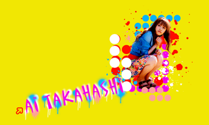Ai Takahashi Wallie -1280x768- by Kiokiou