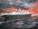 Titanic Painting by invisible2u
