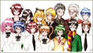 Katawa Shoujo Cast edited... by VIVItheHeiwa
