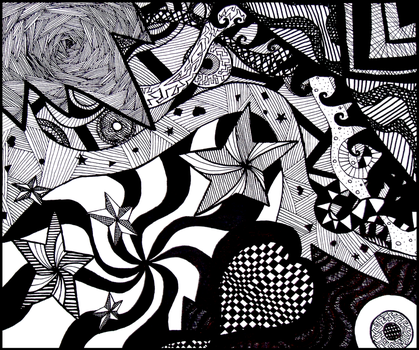 Sharpie Chaos by MusicIsMyPassion