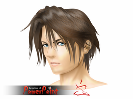 Commission - 3D Squall by Prince-of-Powerpoint