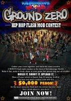 GROUND ZERO Hip Hop Flash Mob Contest by joviedayon