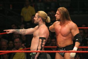 WWE - Nov07 - Jeff + HHH 01 by xx-trigrhappy-xx
