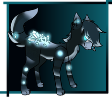 Crystalback Wolf Adoptable [Closed] by GeXeHeNNa