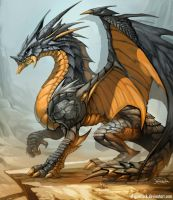 DRAGON art by el-grimlock