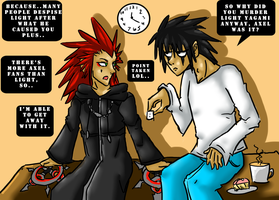 Axel vs Lawliet 2 +Agreements+ by iSapphirus