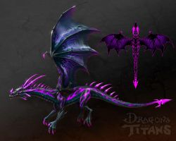 Netherdrake Concept by EricClaeys