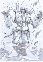 AA14 Sketch - Megatron by Kingoji